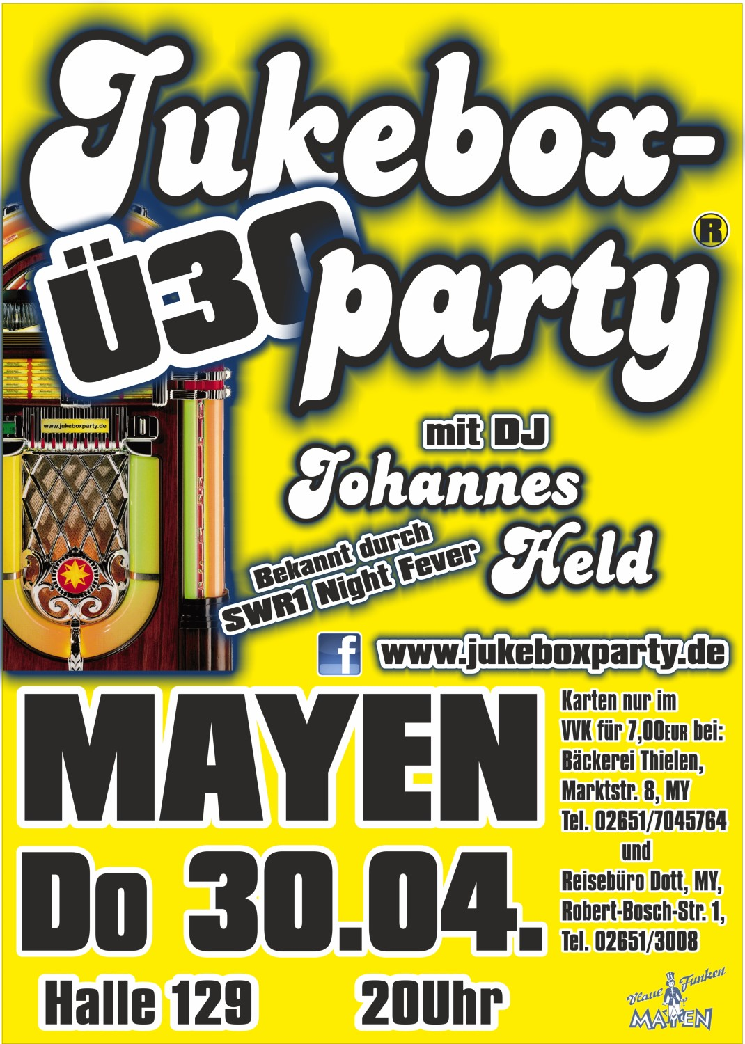 Jukeboxparty Mayen