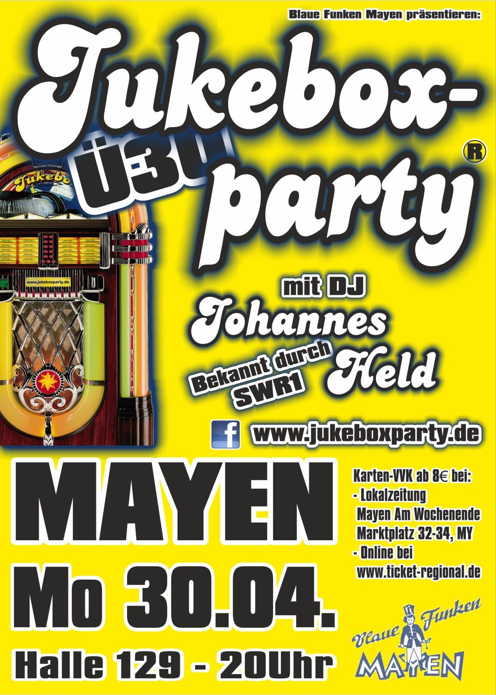 Jukeboxparty Mayen, Plakat 2018